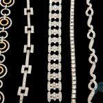 diamond necklace womens