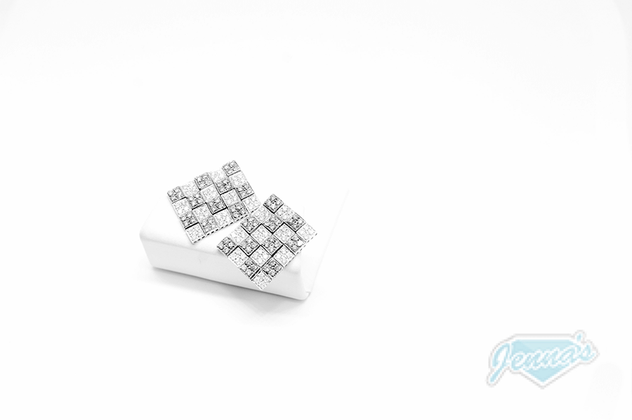 diamond earrings studs
